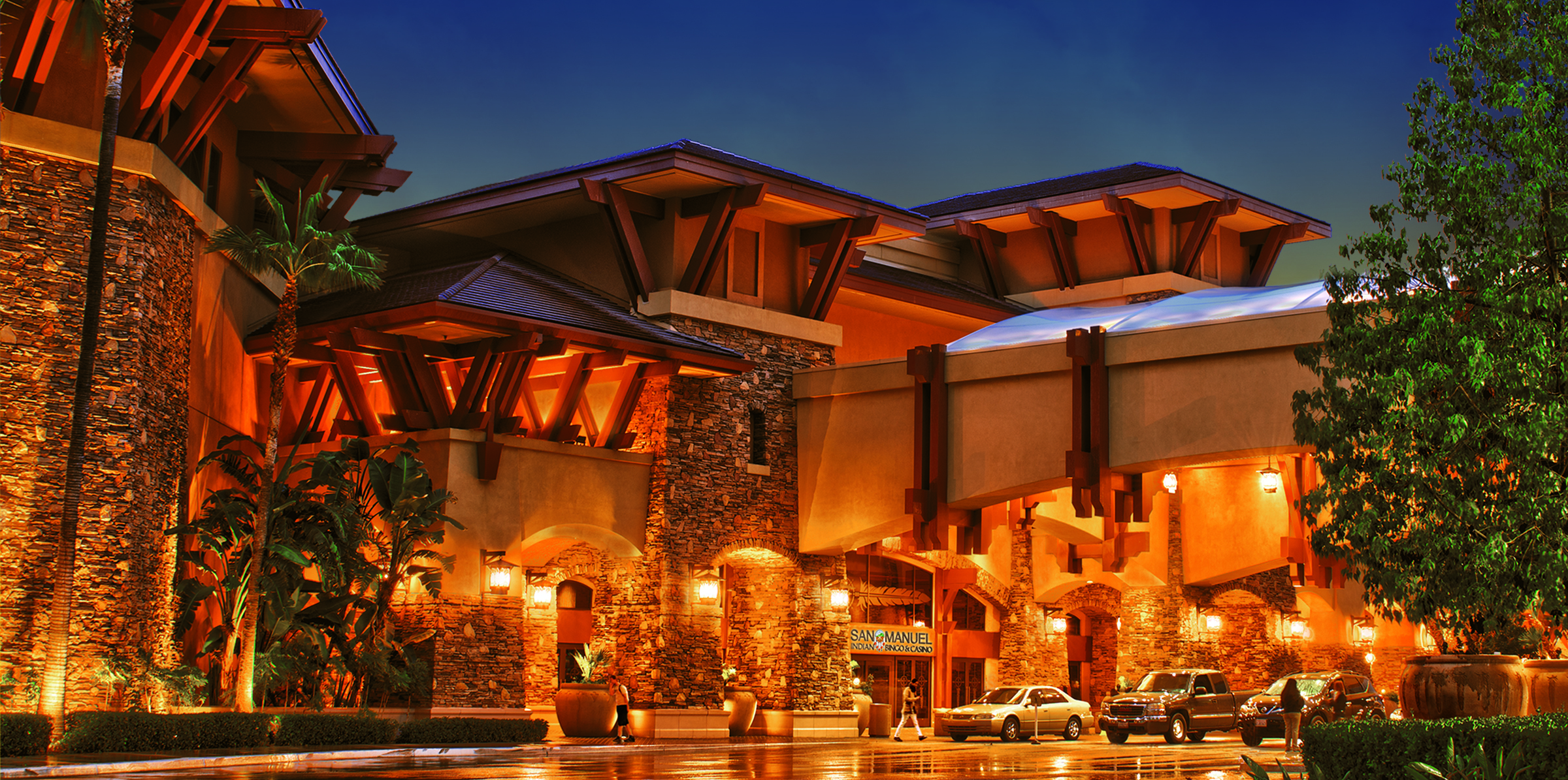 San manual indian casino park casino hotel