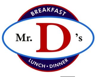 Mr D logo